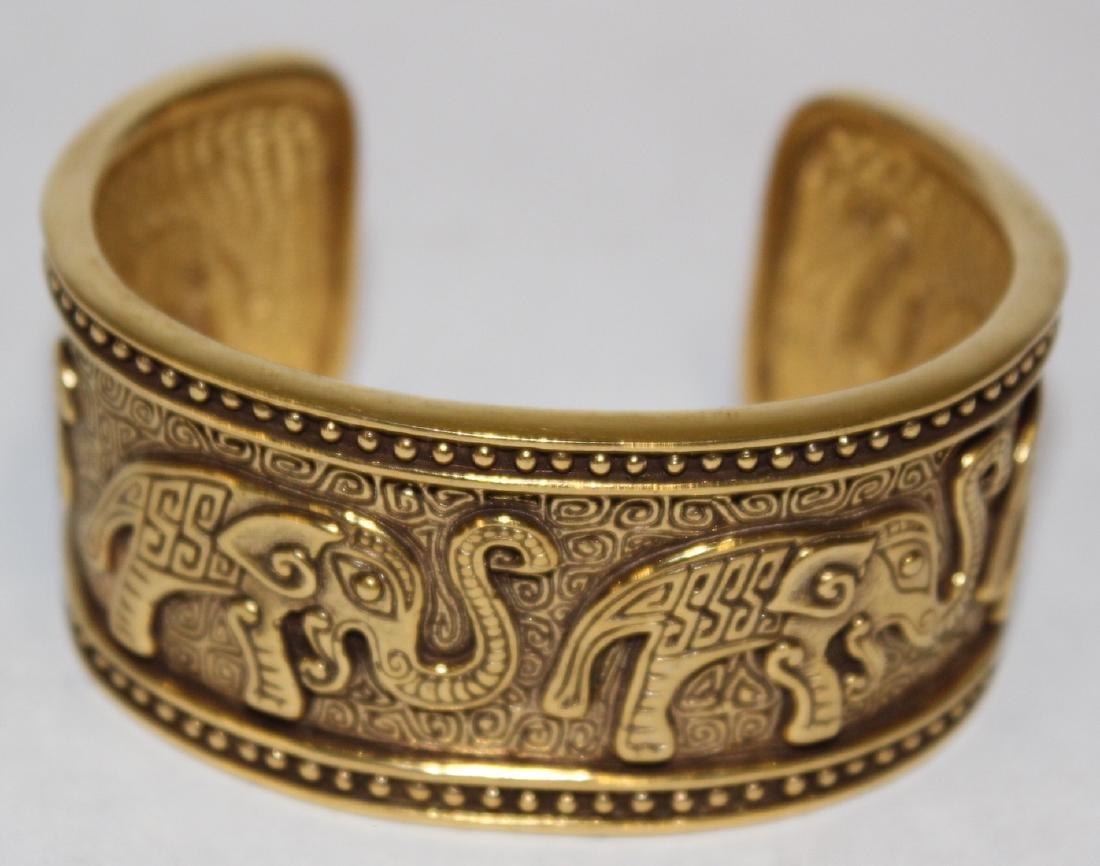 Vintage Costume Jewelry Bracelets  inc. Sgd. Monet (5) - 4