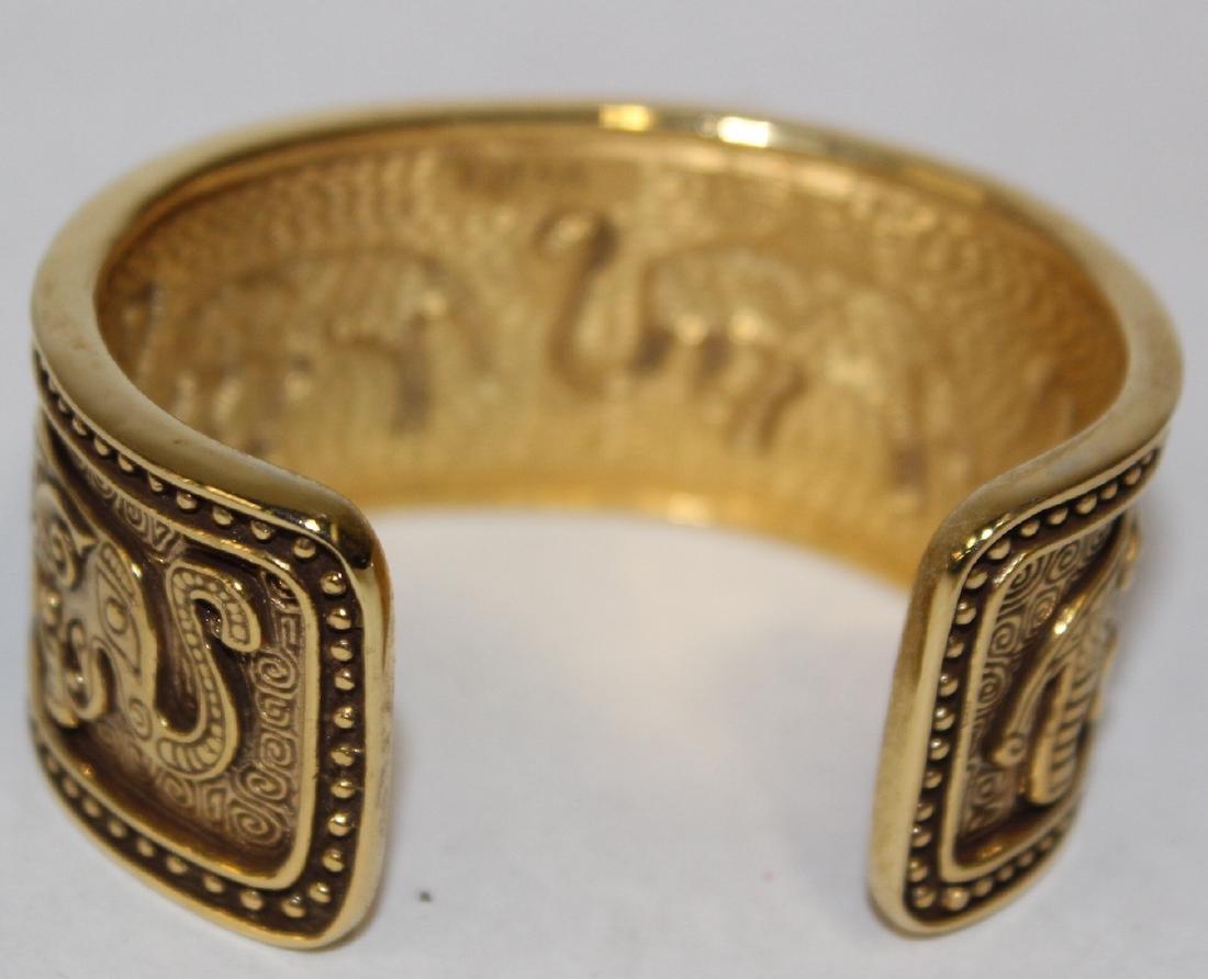 Vintage Costume Jewelry Bracelets  inc. Sgd. Monet (5) - 5
