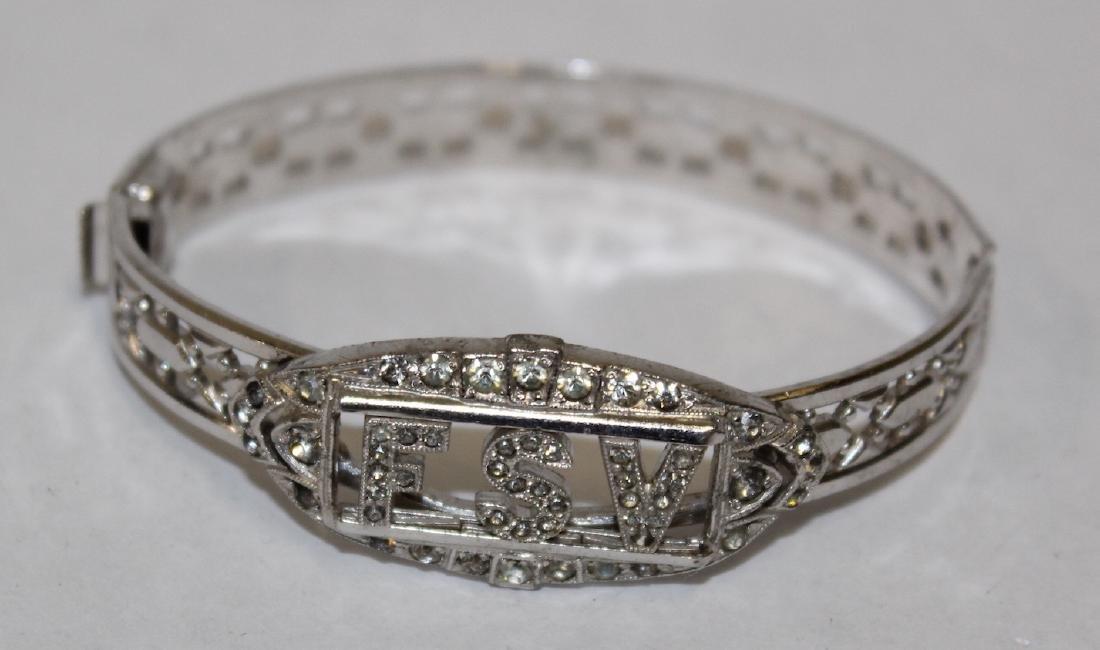 Vintage Costume Jewelry Bracelets  inc. Sgd. Monet (5) - 6