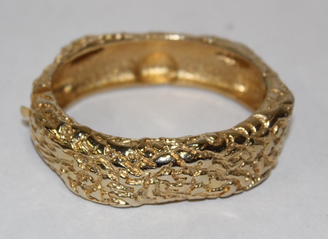 Vintage Costume Jewelry Bracelets  inc. Sgd. Monet (5) - 8