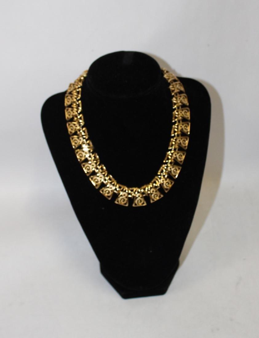 Vintage Lot of Necklaces inc. Monet & Rhinestone - 2