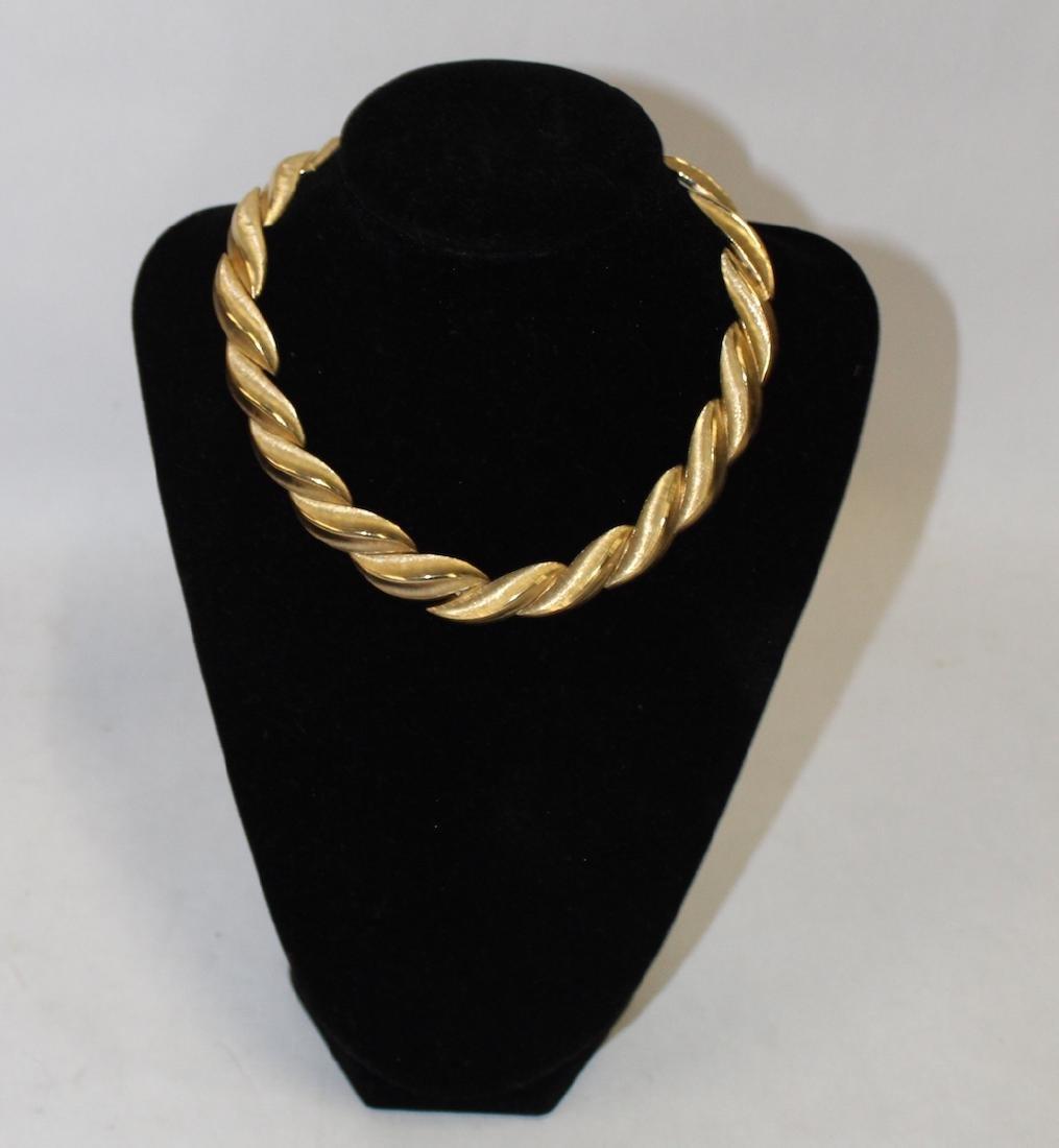 Vintage Lot of Necklaces inc. Monet & Rhinestone - 3