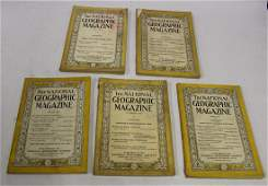 Early National Geographic Magazines 5