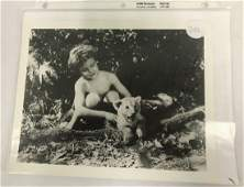 "Tarzan Photograph. ""Boy"" Signed"