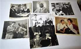 Movie Stills inc. Jean Arthur; Mae West, Garfield (7)