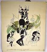 Sam Norkin Original Illustration Signed