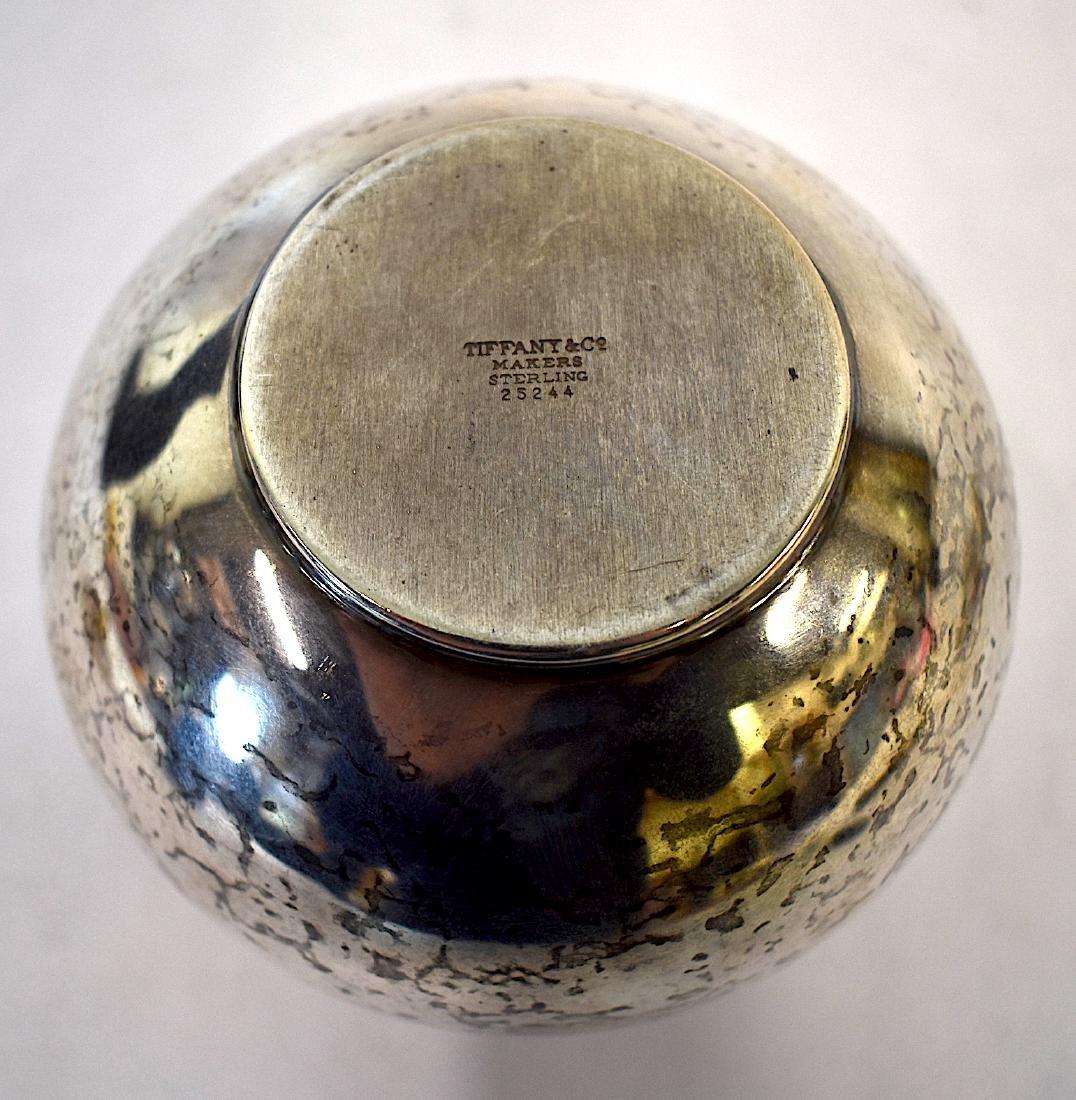 Tiffany & Co. Sterling Silver Vase. - 5