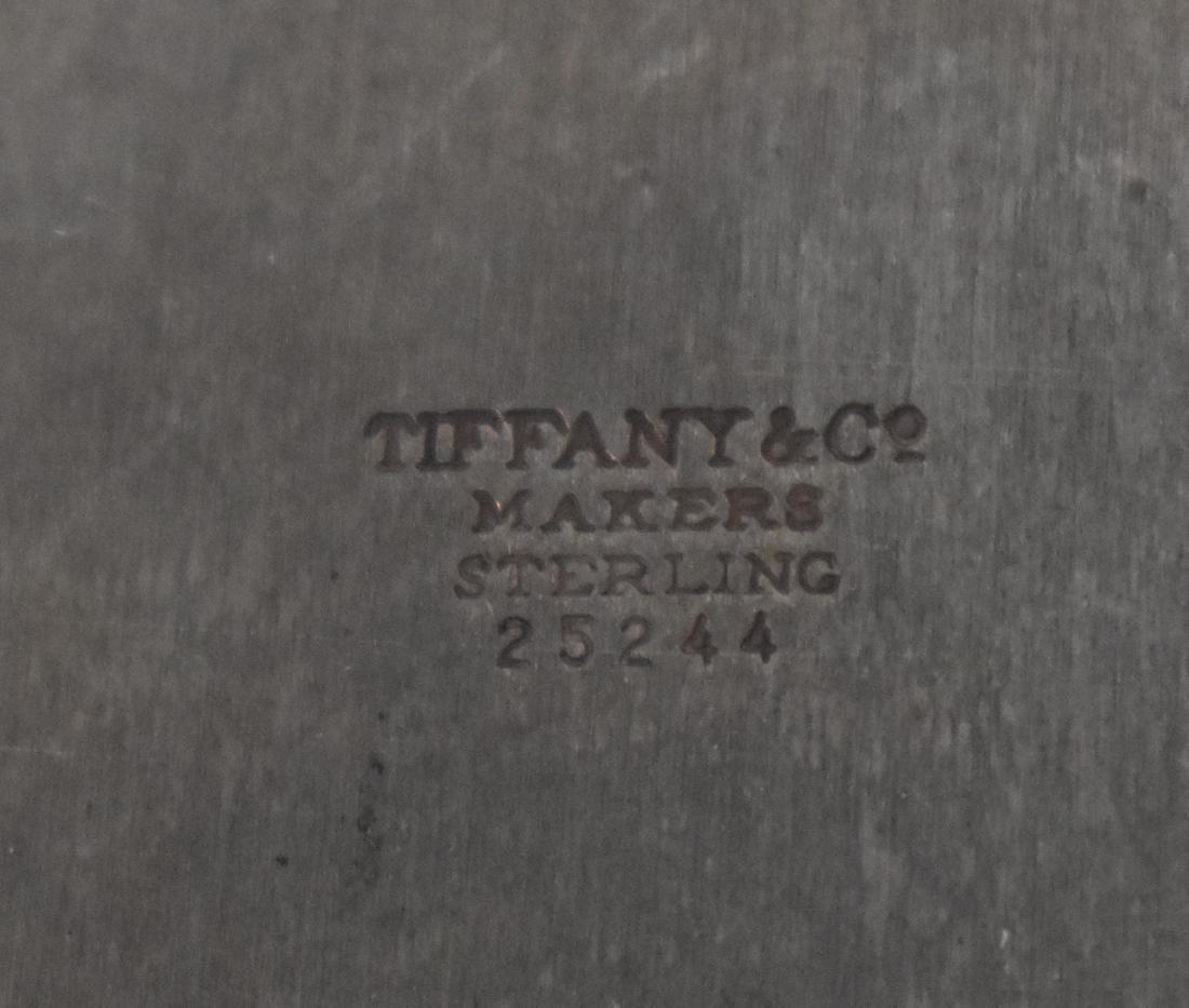 Tiffany & Co. Sterling Silver Vase. - 6