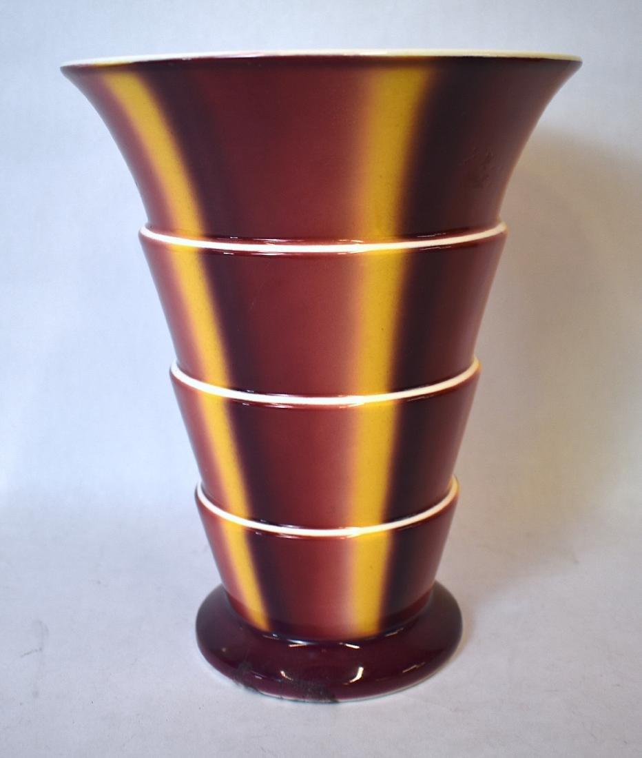 Sprtizdekor Art Deco Villeroy & Bach Vase. C. 1930