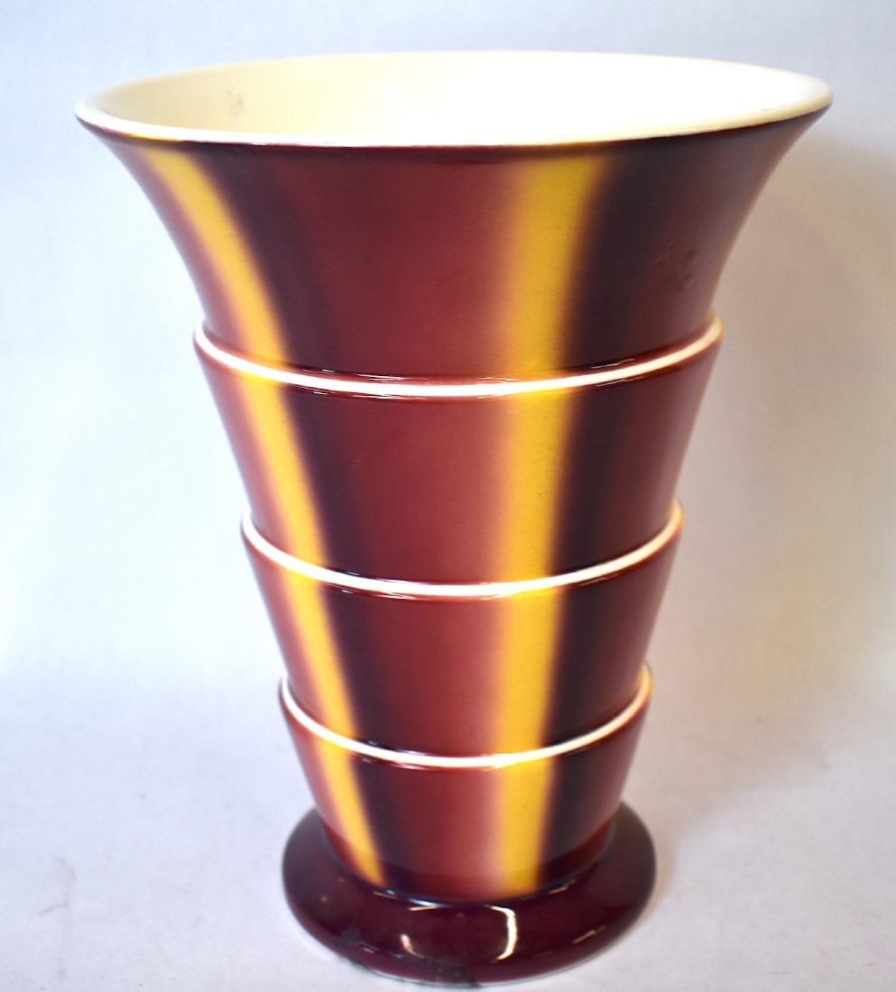Sprtizdekor Art Deco Villeroy & Bach Vase. C. 1930 - 2