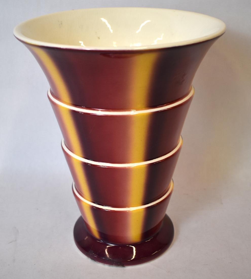 Sprtizdekor Art Deco Villeroy & Bach Vase. C. 1930 - 3