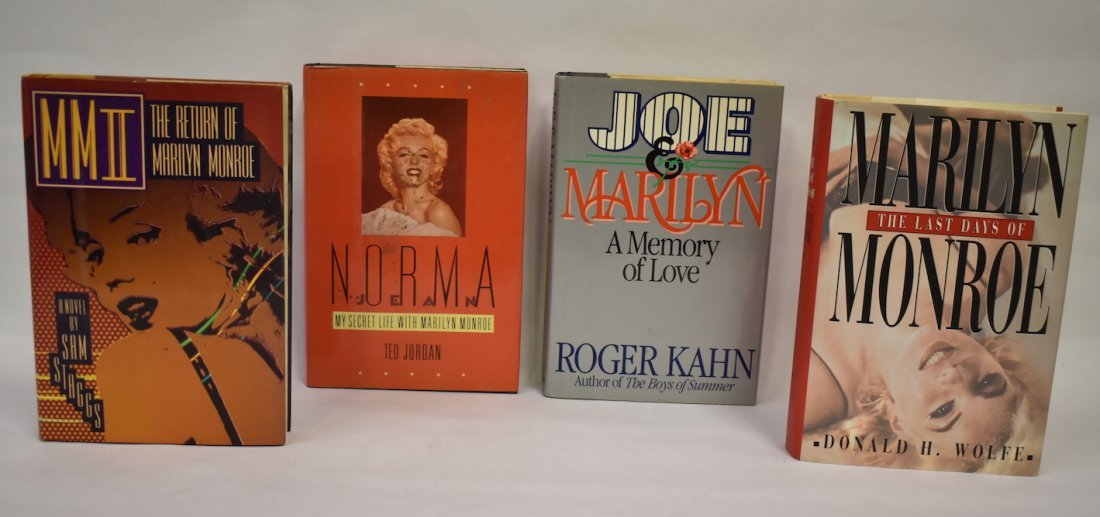 Marilyn Monroe Books (6)