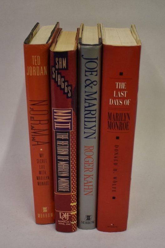 Marilyn Monroe Books (6) - 2