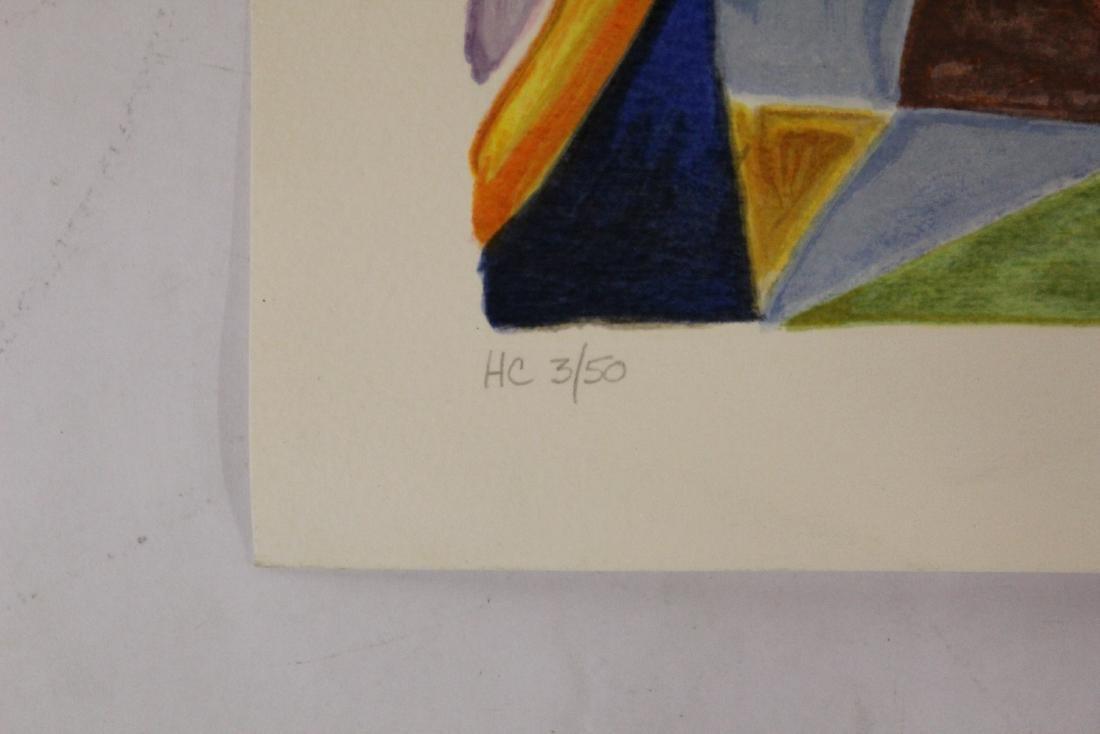 Bone. MCM Lithograph  3/50 - 2