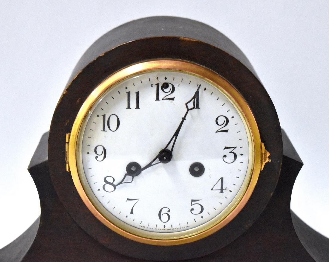 Waterbury Clock Co. Shelf Clock. - 3