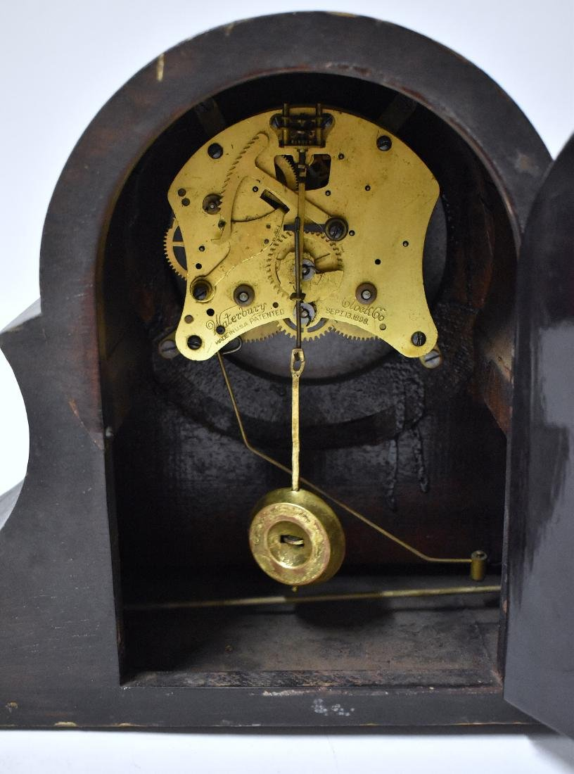 Waterbury Clock Co. Shelf Clock. - 5