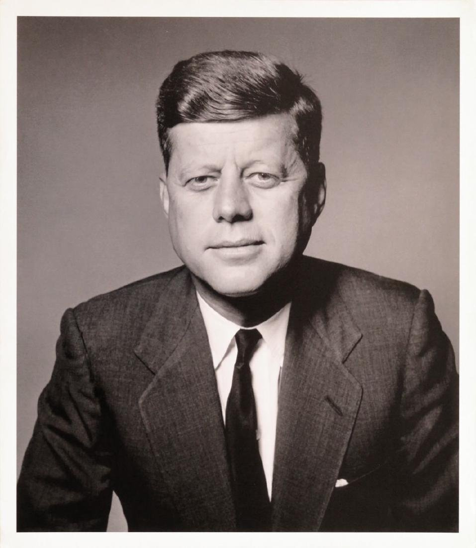 Richard Avedon Photograph. John F. Kennedy.