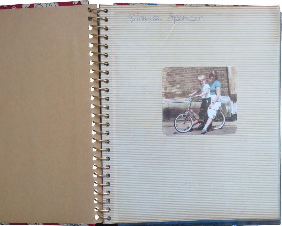 Princess Diana Personal Photo Album Signed