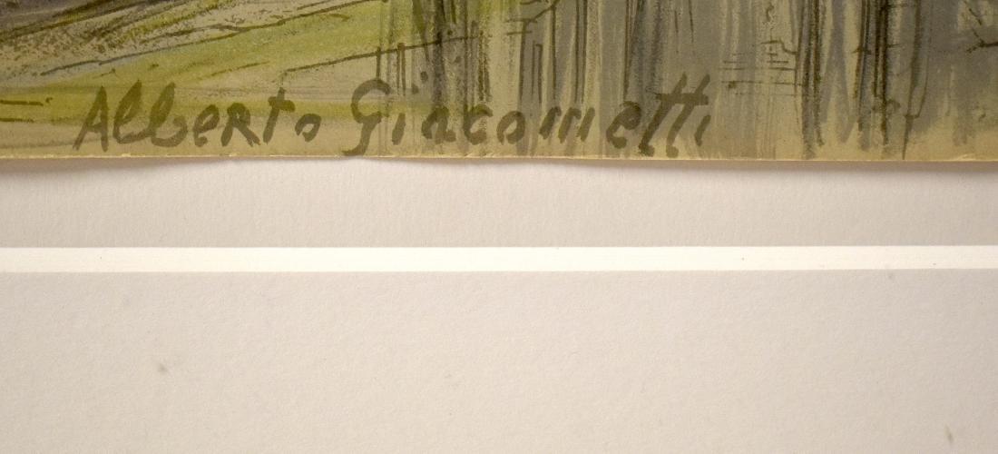 Alberto Giacometti. Lithograph. Signed - 2