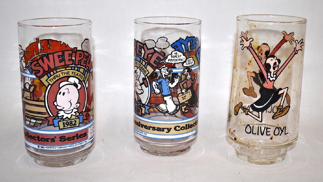 Hobnail and Collectible McDonald Glasses (4) - 2