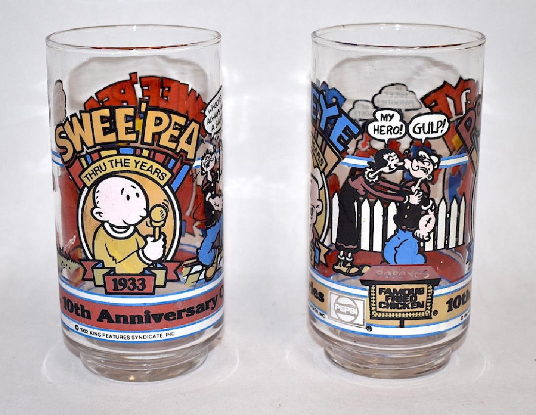 Hobnail and Collectible McDonald Glasses (4) - 4