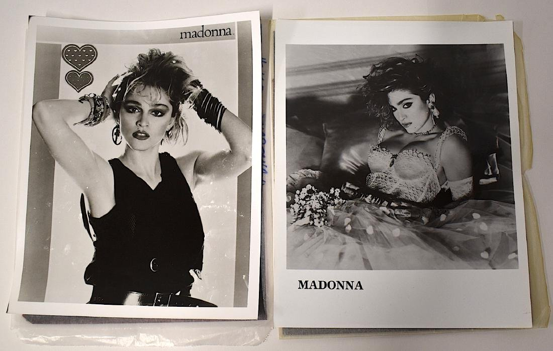 Early Madonna Portraits and Negatives. (4)