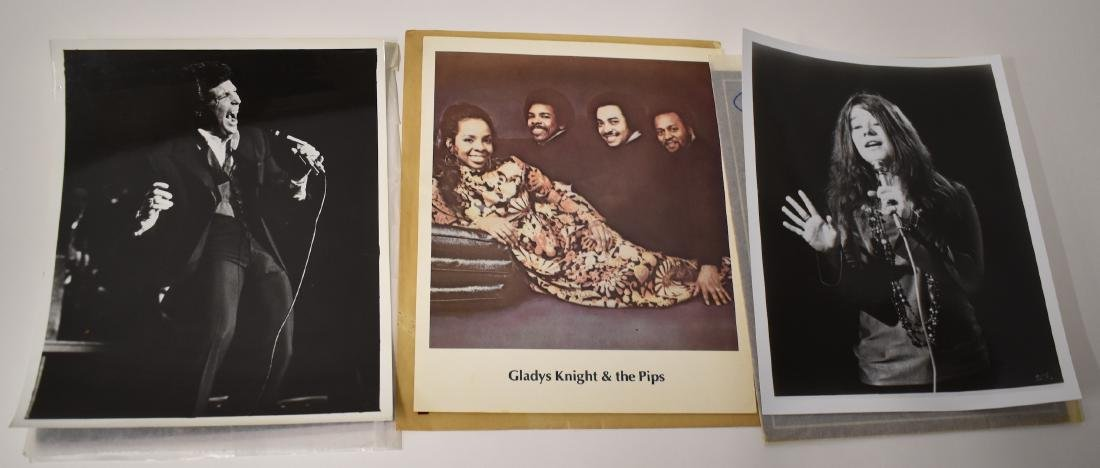 Micheal Jackson. Janis Joplin Photos & Negs (12) - 3