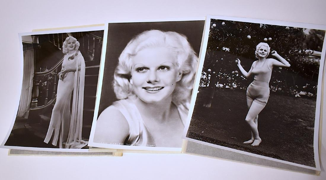 Jean Harlow Photographs and Negatives