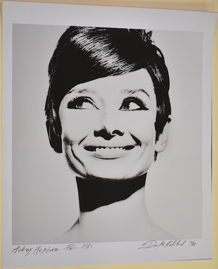 Audrey Hepburn Photo. Sgd. Douglas Kirkland
