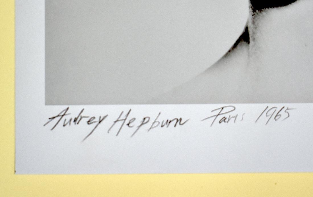 Audrey Hepburn Photo. Sgd. Douglas Kirkland - 2