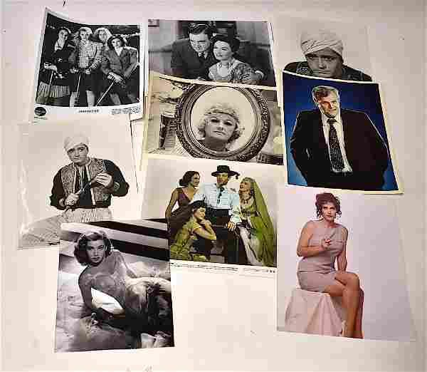 Vintage Celebrity Photographs. D Names (Approx. 463)