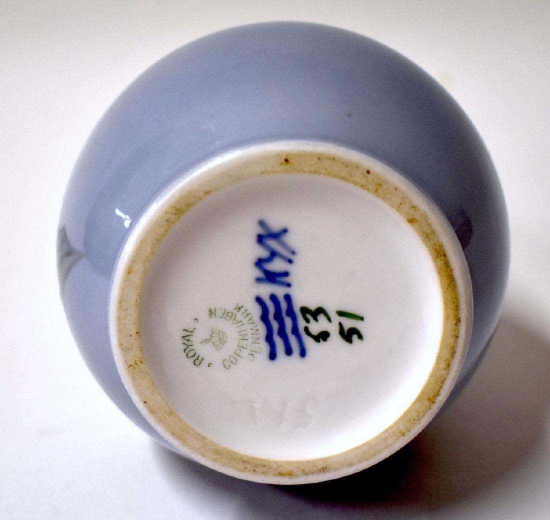 Royal Copenhaen Vase. Signed - 3