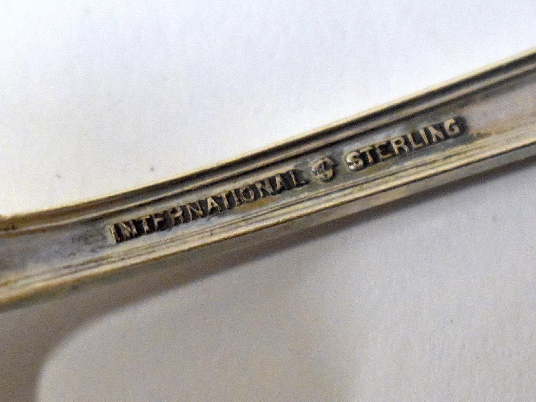 Sterling Silver Flatware Service. International - 3