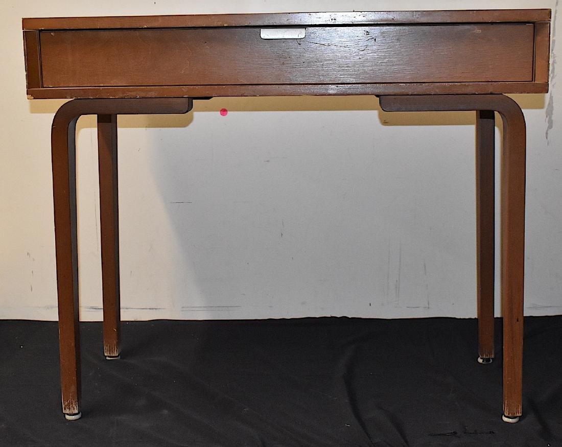 Mid-Century Modern Thonet Desk. Signed
