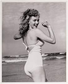 Marilyn Monroe Original Andre DeDienes Photo
