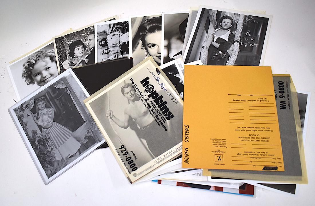 Hollywood Photographs and Negatives (Approx 70)