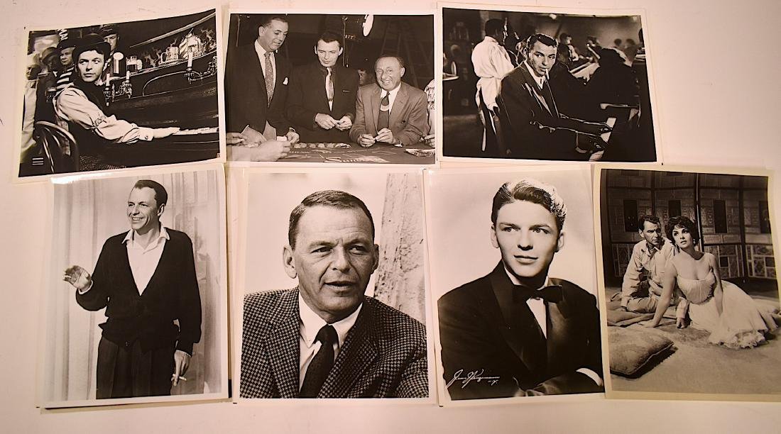 Frank Sinatra Photographs and Negatives (8)