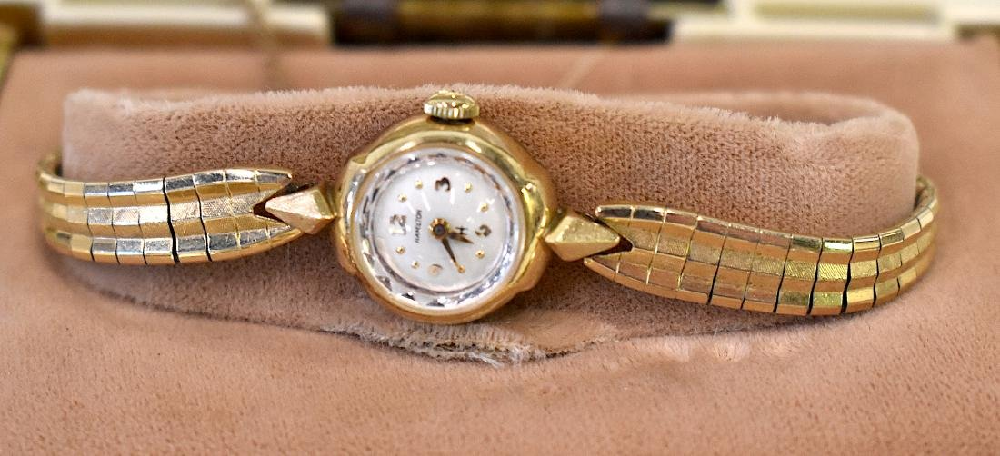 Hamilton Ladies Wristwatch. Gold Filled.