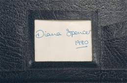 Princess Diana Personal Folder With Name  Drawings