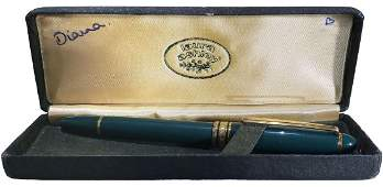 Princess Diana Personal Fountain  Pen Used As Teenager