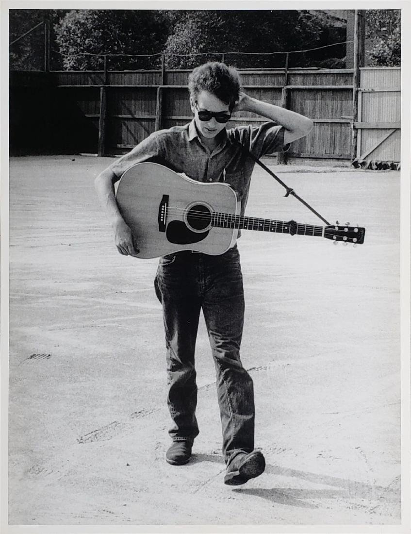 Bob Dylan Original Jim Marshal Publication Photo