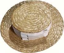 Princess Diana Personally Worn Straw Hat