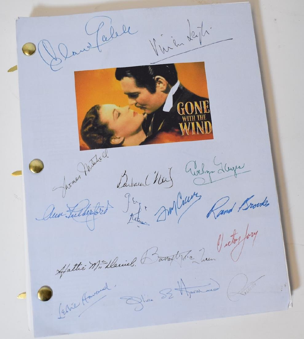 Gone With the Wind Script. 1939 Complete