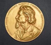 Rare Tiffany & Co. 18K Gold National Academy Medal