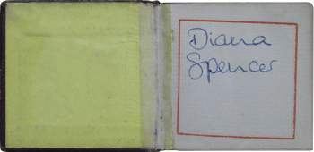 Princess Diana Signed Diana Spencer Small Verse Bible
