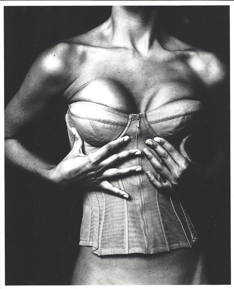 Karl Lagerfeld Original Irving Penn Fashion Photo