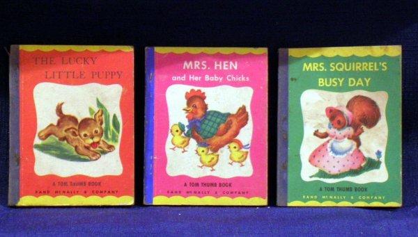 6: Three (3) Tom Thumb Books, 1949