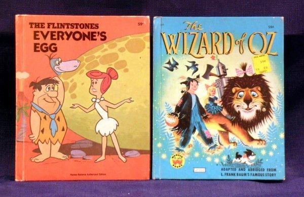 7: Two (2) Wonder Books, 1970's