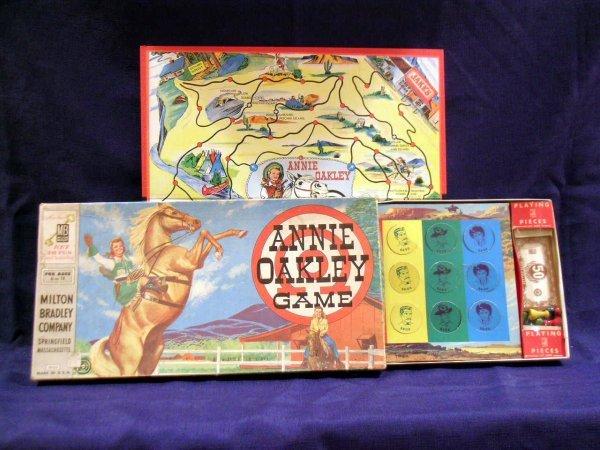 9: Annie Oakley Board Game