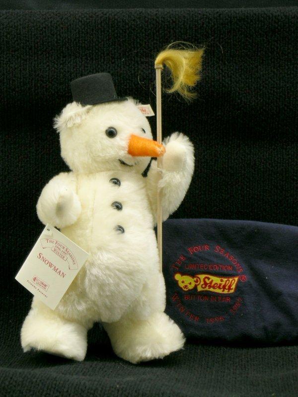 10: Steiff, Snowman